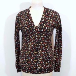 Marc by Marc Jacobs Floral Sweater 2 Pockets A009